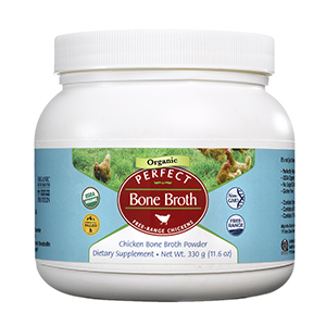 Perfect Bone Broth (330 grams) Bottle Image - 300x300