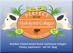 Perfect Hydrolyzed Collagen - Front Middle Panel