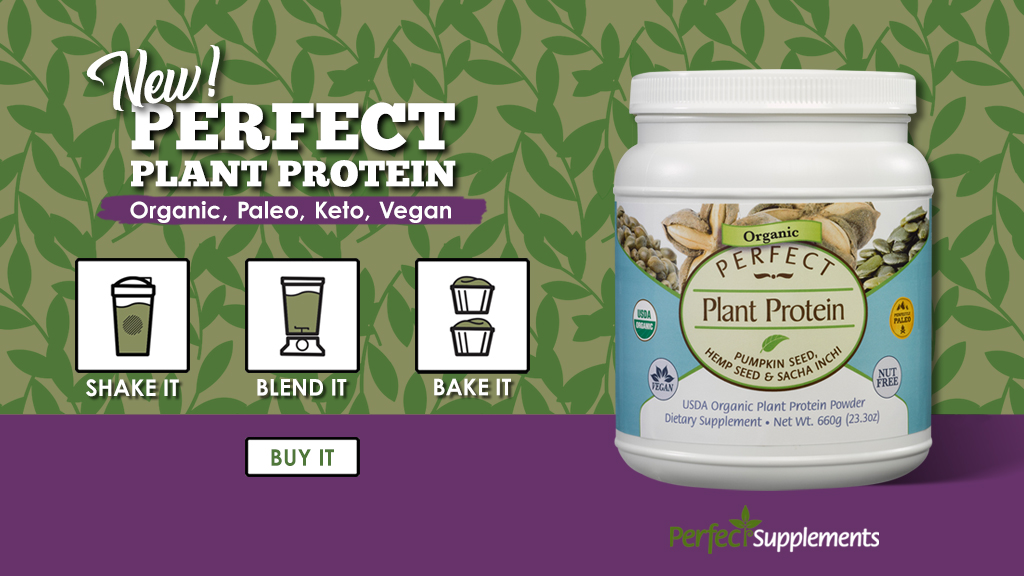 Perfect Supplements Perfect Plant Protein Image Facebook and Twitter Banner (1024x576)