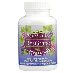 Perfect ResGrape Resveratrol (60 caps) Bottle Image 300x300